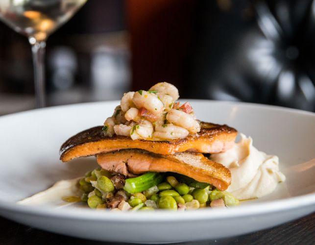 saumon-crevette